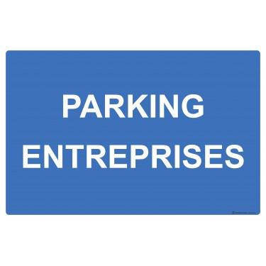 Panneau rectangulaire Parking entreprises