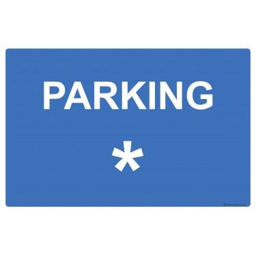 Panneau Parking personnalisable