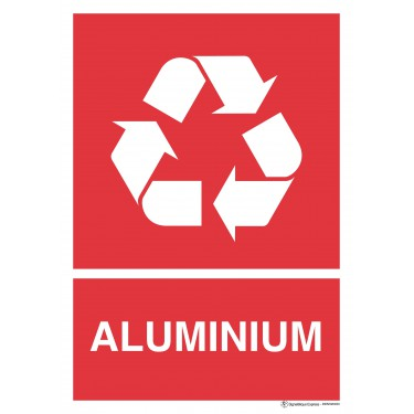 Panneau Tri sélectif aluminium