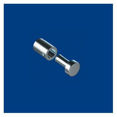 Entretoises et cache-vis de diamètre 13mm - Lot de 4