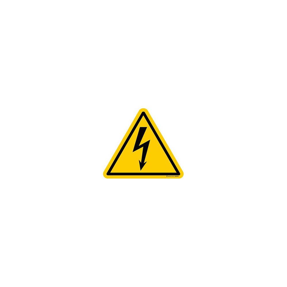 Panneau Danger électricité ISO 7010 W012