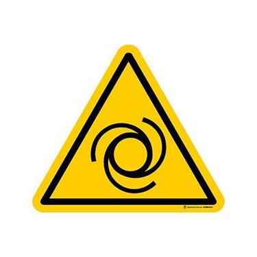 Panneau Danger démarrage automatique ISO 7010 W018