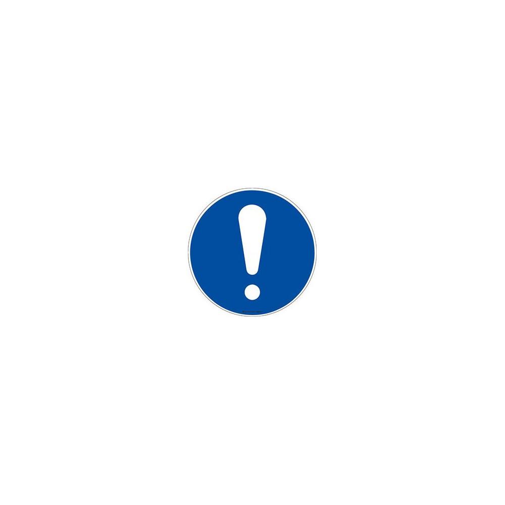 Panneau Obligation signal général ISO 7010 M001