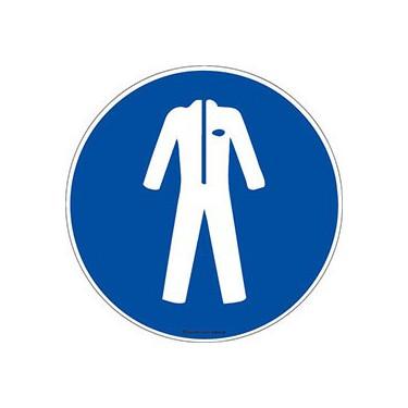 Autocollants Vêtement de protection obligatoire ISO 7010 M010