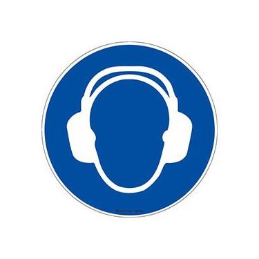 Autocollants Casque anti-bruit obligatoire ISO 7010 M003