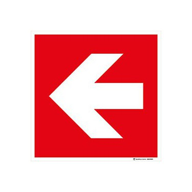 Panneau Direction à suivre - gauche