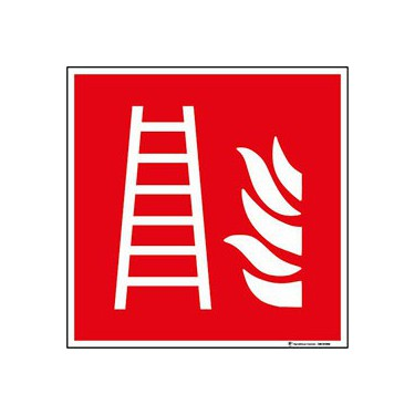 Panneau Échelle d'incendie ISO 7010 F003