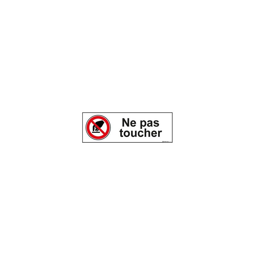 Panneau Ne pas toucher ISO 7010 P010