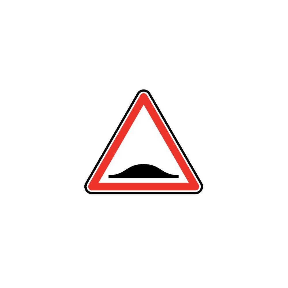 Panneau routier - type A Danger - A2b  ralentisseurs de type dos-d'âne - Signalétique Express