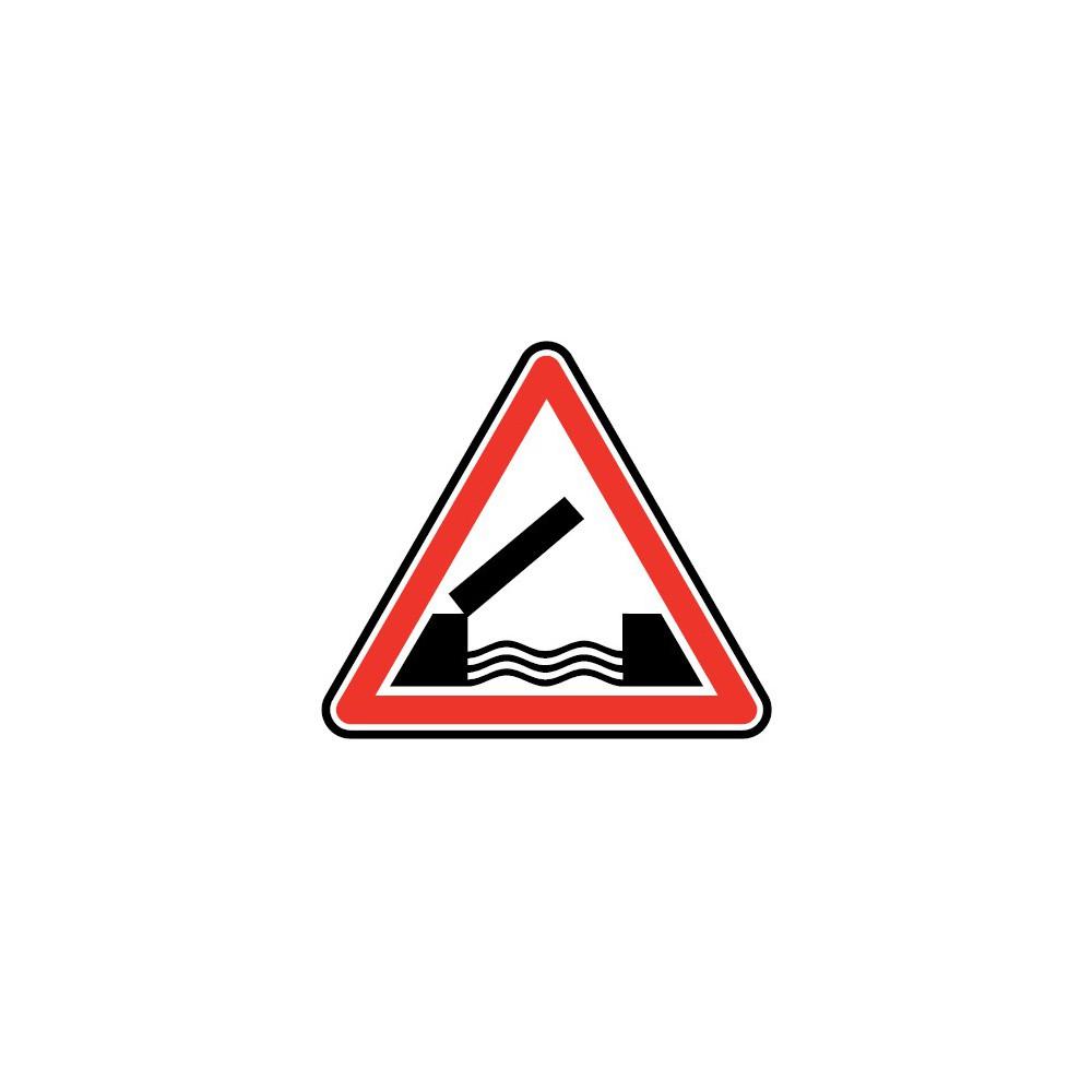 Panneau Pont mobile - A6