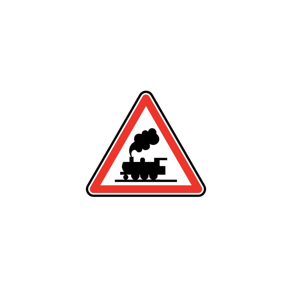 Panneau Passage à niveau sans barrière - A8