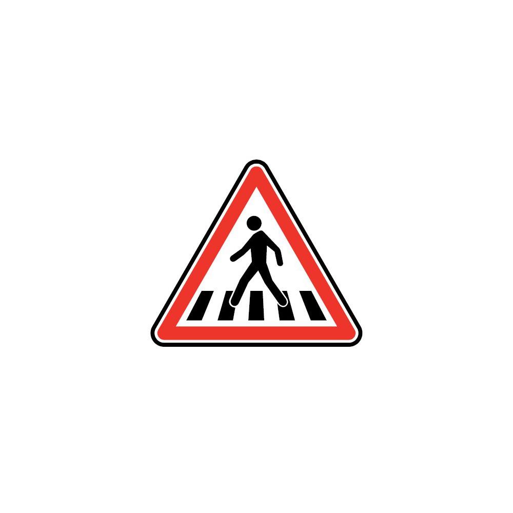 Panneau Passage pour piétons - A13b