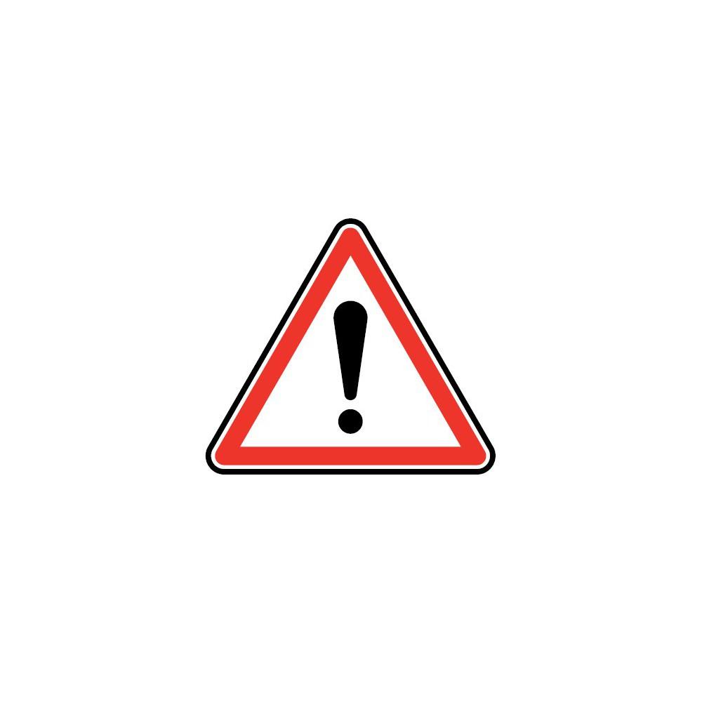Panneau Autres dangers - A14