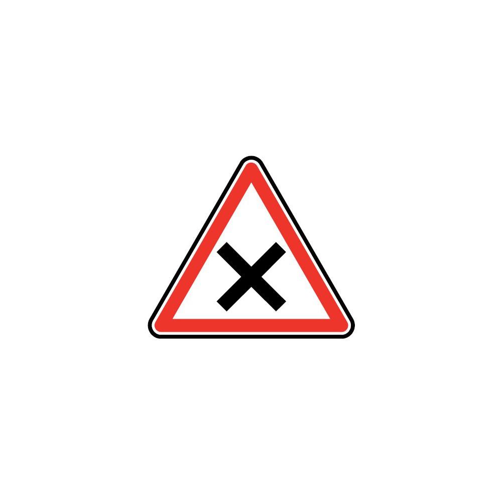 Panneau Carrefour avec priorité à droite - AB1