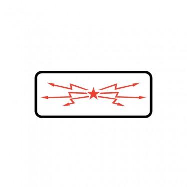 Panonceau Voie ferrée électrifiée - M9b1