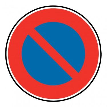 Panneau B6a1 stationnement interdit à tous les véhicules