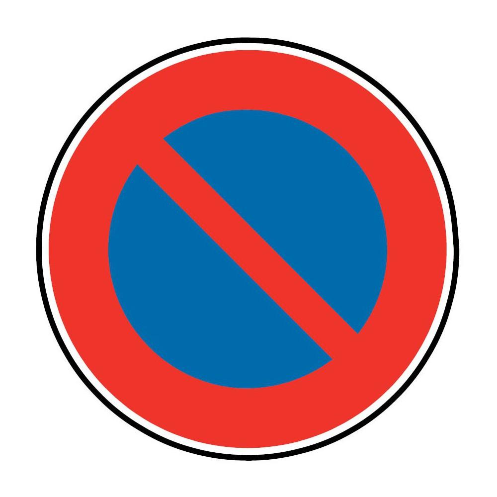 Panneau Stationnement interdit à tous les véhicules - B6a1