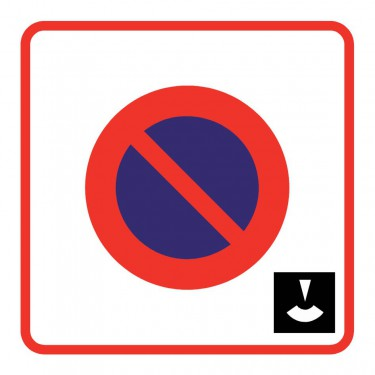 Panneau B6b3 zone de stationnement à durée limitée et contrôlé par disque