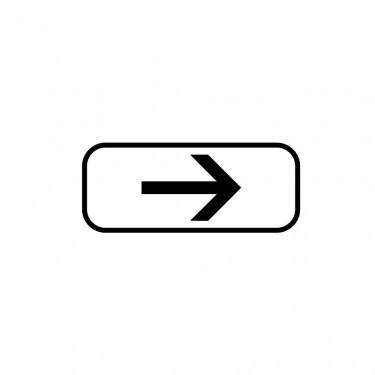 Panonceau Direction à suivre droite - M3b1