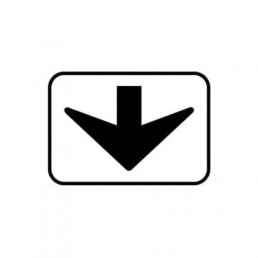 Panonceau M3d pour panneaux de type B