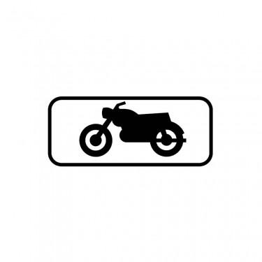 Panonceau Motos et motocyclettes légères - M4c