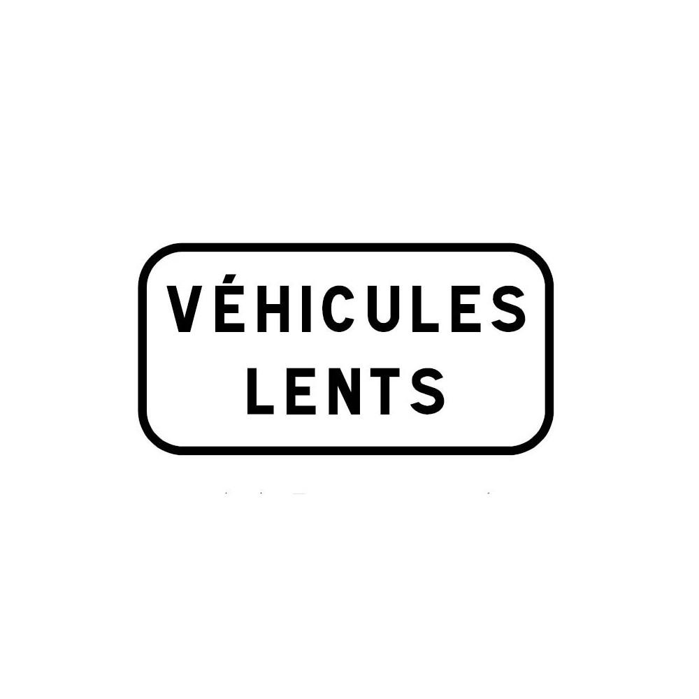 Panonceau Véhicules lents ou personnalisable - M4e1