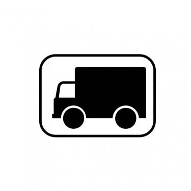 Panonceau Transport de marchandises - M4g