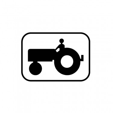 Panonceau Véhicule agricole à moteur - M4i