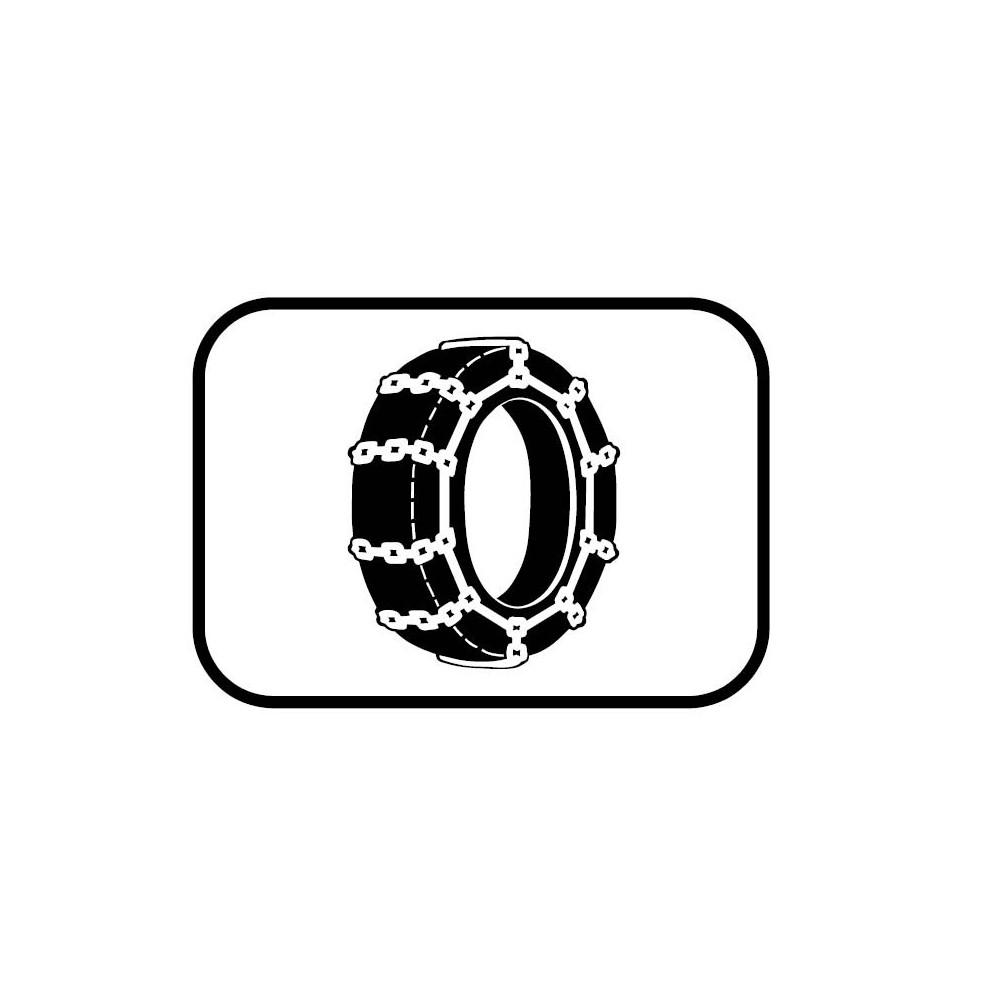 Panonceau Chaînes à neige - M4j