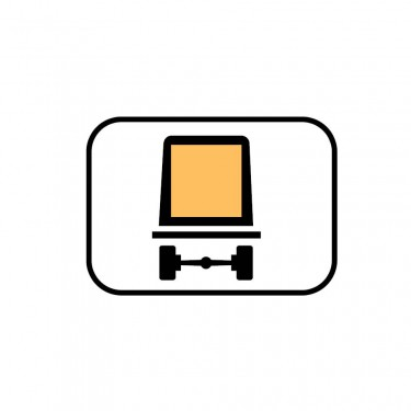 Panonceau Transport de marchandises dangereuses - M4m