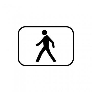 Panonceau M4p pour panneaux de type B