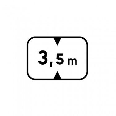 Panonceau M4v pour panneaux de type B