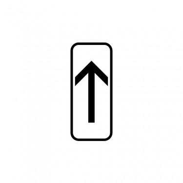 Panonceau Début de section de stationnement - M8a