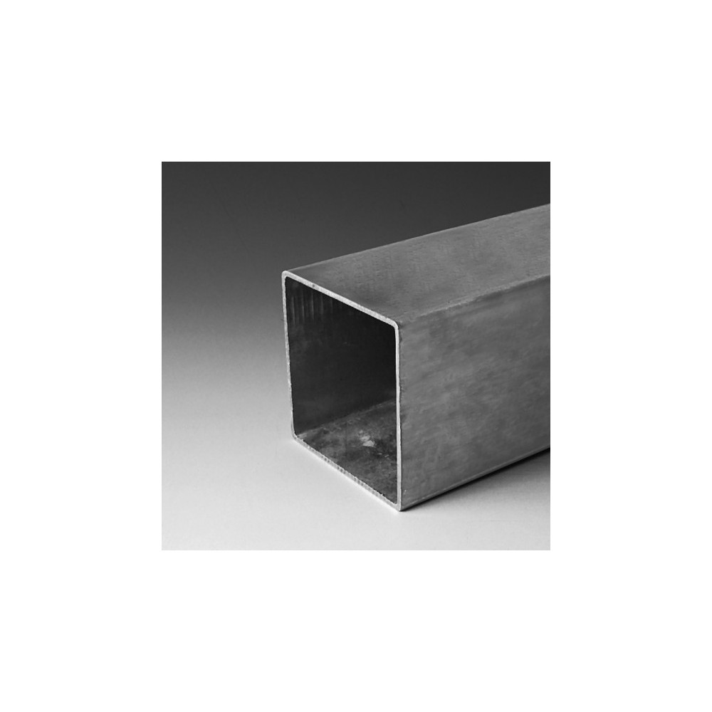 Poteau en acier galvanisé carré 80x80mm
