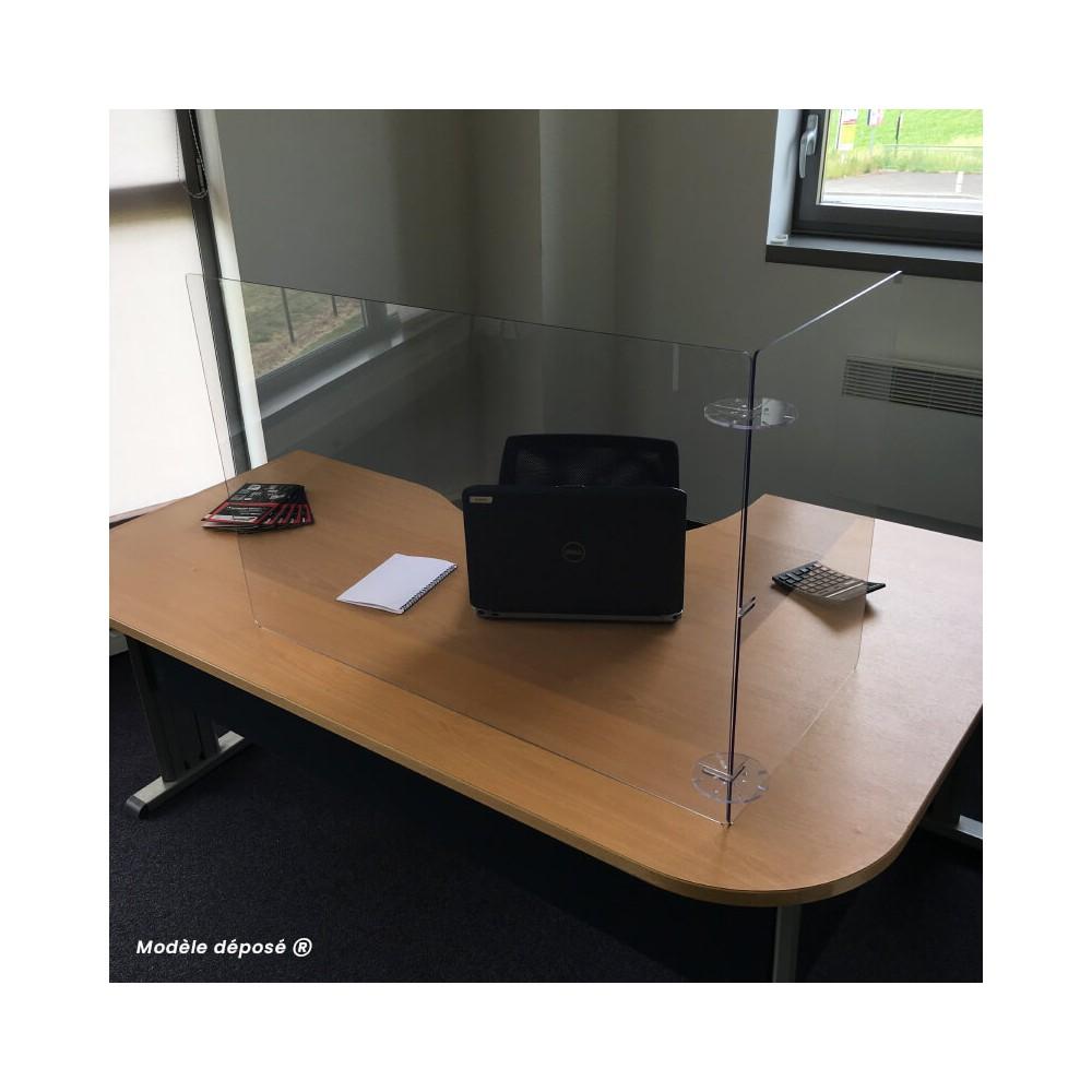Vitre de protection pour bureau en plexiglas - MODULO