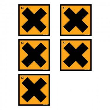 Autocollants Irritant - Lot de 5