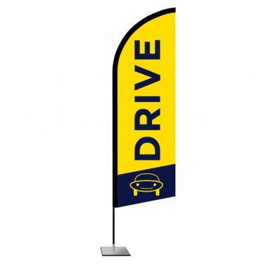 Drapeau plume Drive