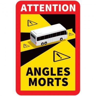 Panneau Angles morts pour bus