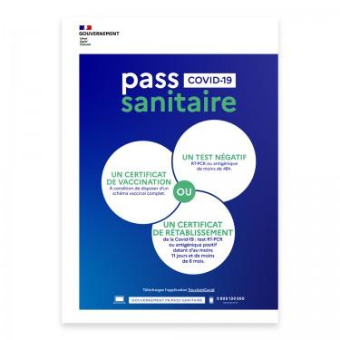 Affiche Pass Sanitaire