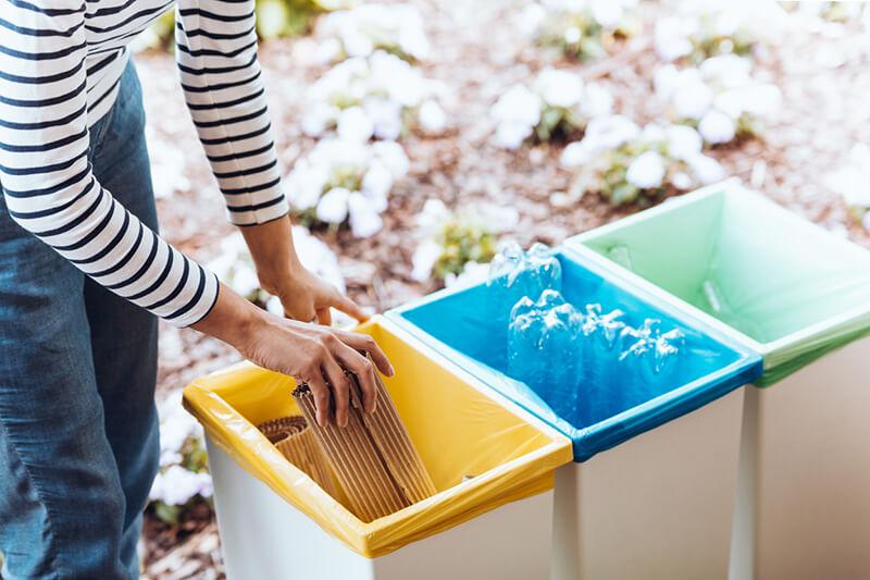 poubelles de tri en entreprise