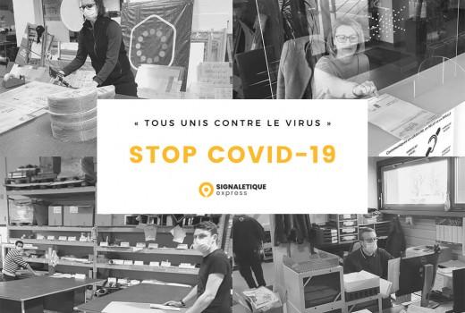 Covid-19 : Signalétique Express s'organise pour aider les plus exposés