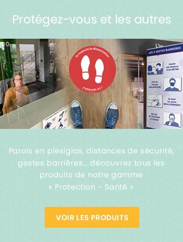Banner Gamme Protection - Santé