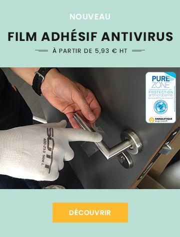 La protection adhésive qui neutralise 99,87 % des coronavirus - PUREZONE®